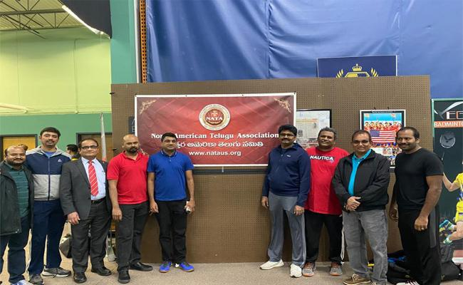 NATA Conducted Badminton Competitions In Chicago - Sakshi
