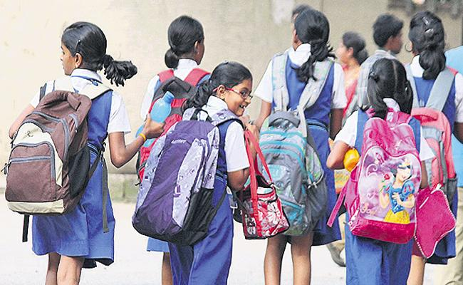 Half Days Schools In AP From 15th Of March - Sakshi