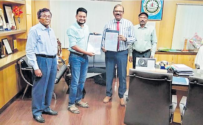 APGVB Bank Agreement With Food Processing Startup Company - Sakshi
