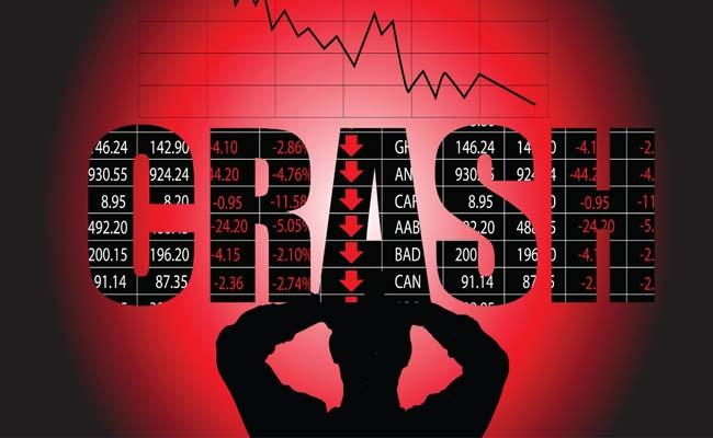 Sensex Crashes 3000 Points  in intraday Biggest Single Day Fall Ever - Sakshi