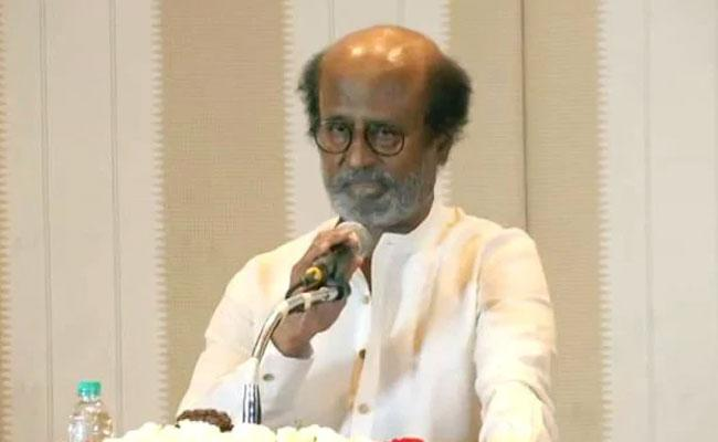 My Party Will Contest In 2021 Elections Says Rajinikanth - Sakshi