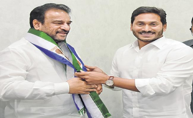 Rama Subba Reddy Joins In Presence Of CM YS Jaganmohan Reddy - Sakshi