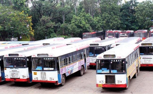 TSRTC Employees Get Strike Period Salary - Sakshi