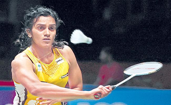 PV Sindhu Entered Into Quarters In All England Open Badminton Tourney - Sakshi