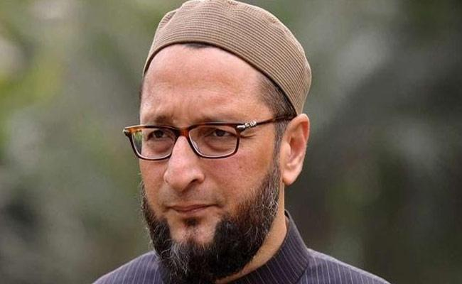 Case Filed Against Asaduddin Owaisi Atv moghalpura Police station - Sakshi