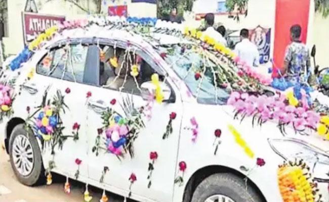Bride Groom Arrested In Marriage Ceremony - Sakshi