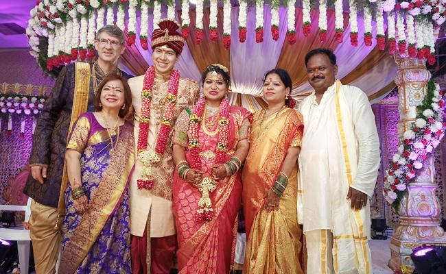 Nizamabad Women Marriage With American Groom - Sakshi