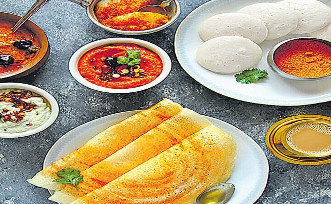 Variety Breakfast Of Idli And Dosa - Sakshi