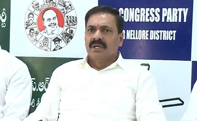 Kakani Govardhan Reddy Challenges To Somireddy Chandra Mohan - Sakshi