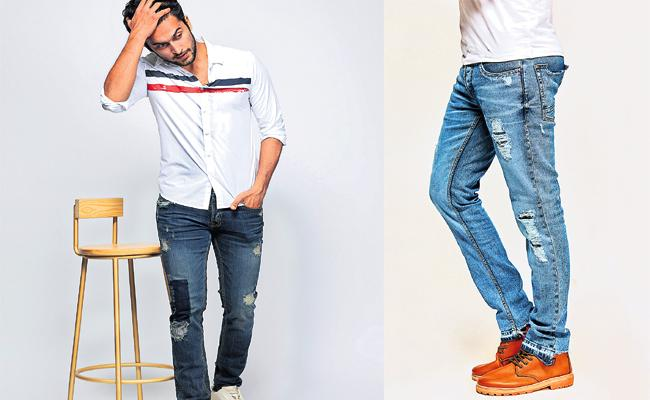 New Fashion Designs For Old Denim Jeans - Sakshi