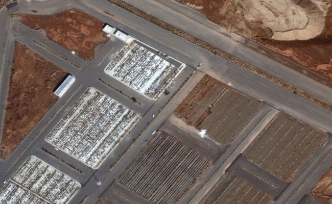Satellite Images Show Irans Mass Graves For Corona Virus Victims - Sakshi