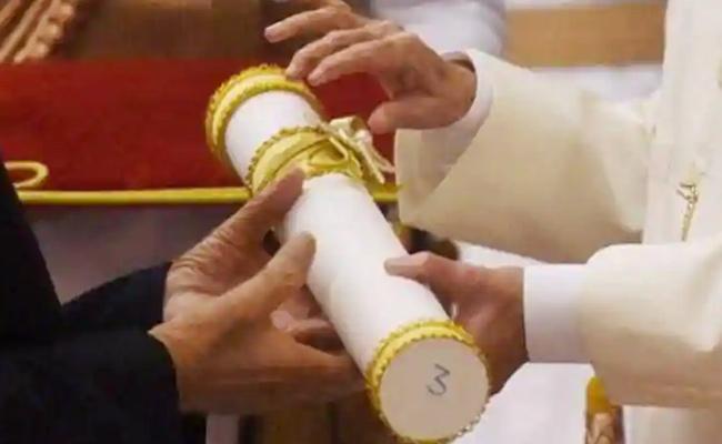 Covid 19 Fears Padma Awards Presentation Postponed - Sakshi