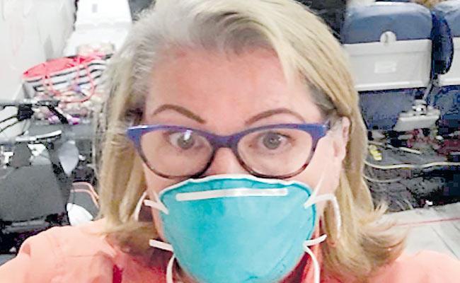 Melania Sibbit Shares Her Experience After Corona Diseased - Sakshi