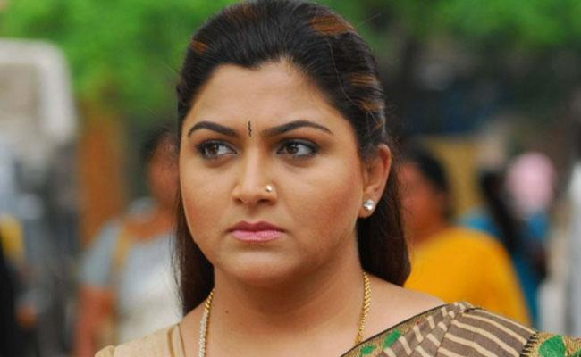 Actress Khushbu Fires On Campaign Of Cow Urine Treat Corona - Sakshi
