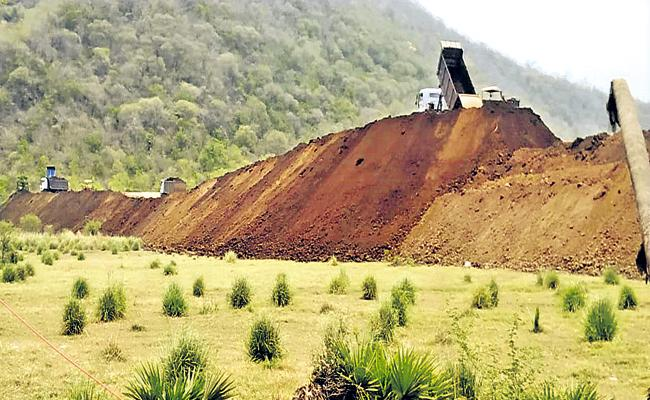 Sale of Polavaram soil by APMDC as transparent - Sakshi