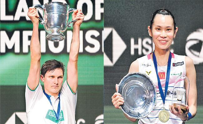 Viktor Axelsen And Tai Tzu Ying Are The Champions In All England Tournament - Sakshi
