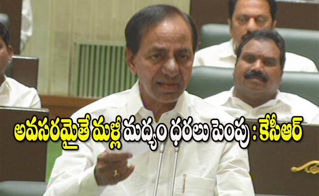 KCR Speech In Telangana Assembly - Sakshi