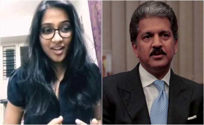 Girl Sings Coronavirus Awareness Song And Anand Mahindra loves Her Voice - Sakshi