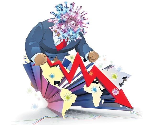 Sensex crashes 2713 points as coronavirus fears hit investor sentiment - Sakshi