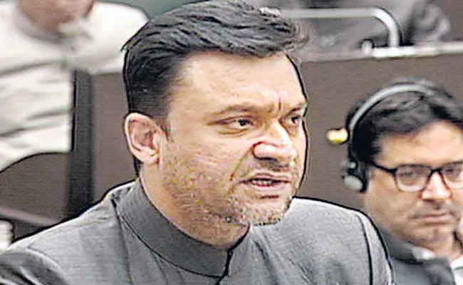 Akbaruddin Owaisi Speech Against CAA And NRC At Telangana Assembly - Sakshi