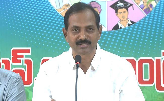 Gopireddy Srinivasa Reddy Fires On Chandrababu Over Local Body Polls - Sakshi