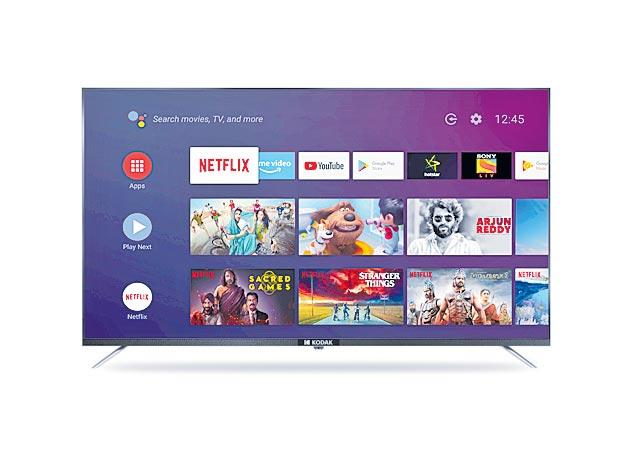 Kodak launches India is lowest priced Android TV range - Sakshi