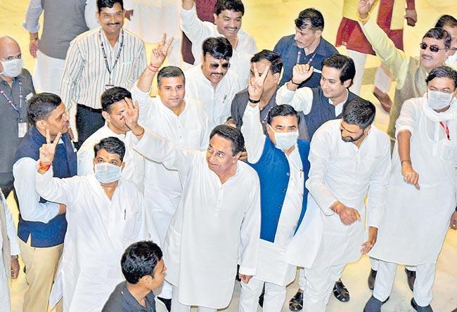 Madhya Pradesh Assembly adjourns till March 26 - Sakshi