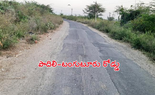 Funds Released For Podili Tanguturu National Highway Road Works - Sakshi