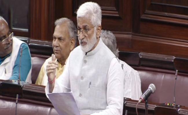 Vijaya Sai Reddy Request To Piyush Goyal In Rajya Sabha - Sakshi