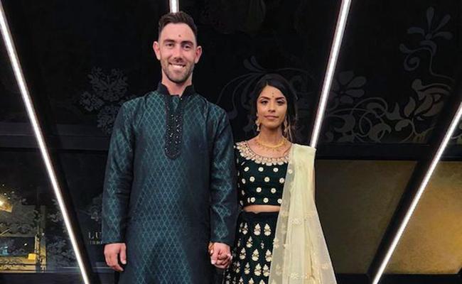 Glenn Maxwel Gets Engaged to Vini Raman  - Sakshi