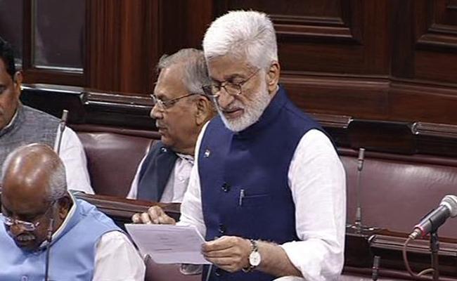 Vijaysai Reddy Request To Railway Minister Vistadome Coaches Add To Araku Train - Sakshi