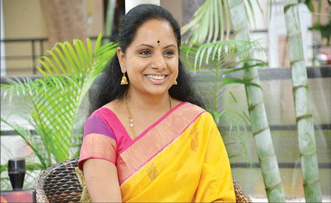 Kalvakuntla Kavitha To Contest As MLC From Nizamabad - Sakshi