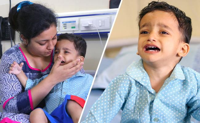 Veer a Little Boy Suffering From Cancer Help Him Through Ketto - Sakshi
