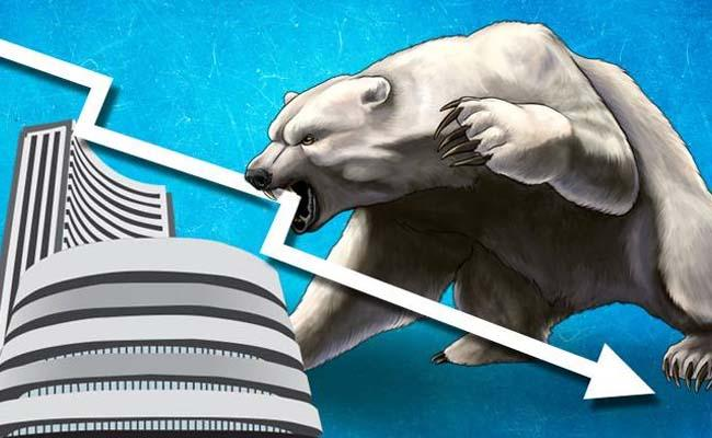 Sensex Crashes Over 1700 Points Nifty Drops Below 8550 - Sakshi