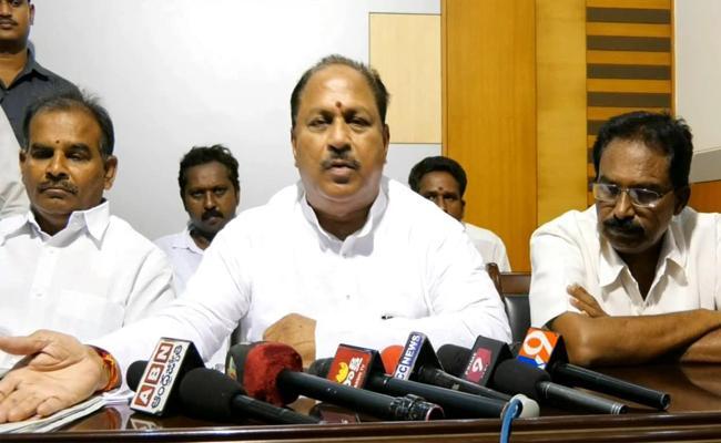 Kottu Satyanaranayana Challenges To TDP Over Local Body Elections - Sakshi