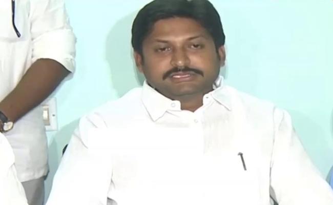 YSRCP MLA Kothari Abbaya Chowdary Firs On Chandrababu - Sakshi
