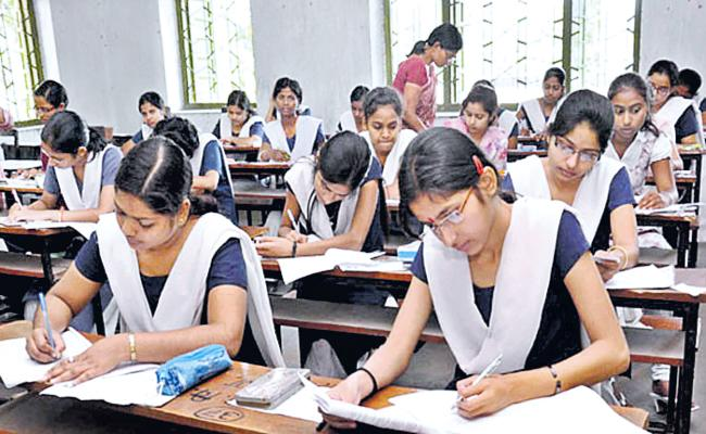 Tenth Class Examinations From 19-03-2020 - Sakshi