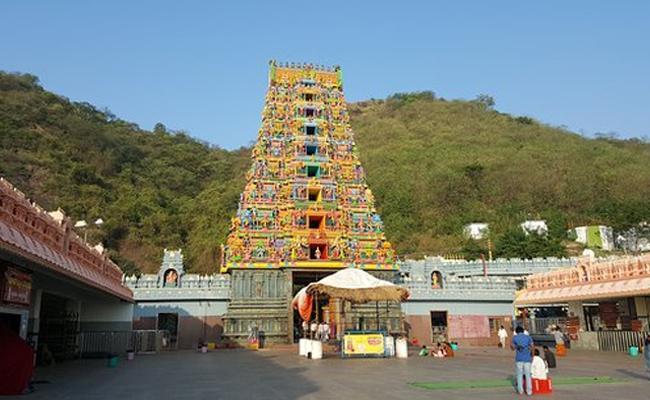 Coronavirus Scare: Vijayawada Durga Temple Cancels All Services - Sakshi