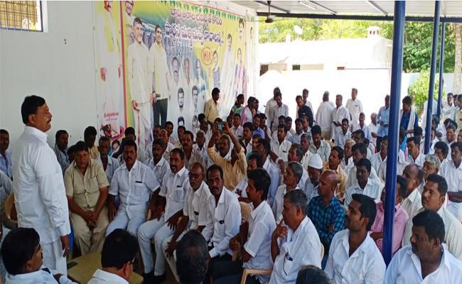 BK Parthasarathi Threats to TDP Leaders on Money Transactions - Sakshi