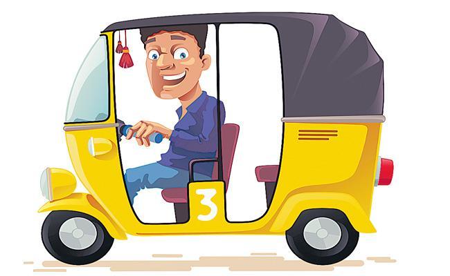 Auto Driver Awareness on COVID 19 Virus - Sakshi