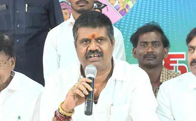 Avanthi Srinivas Slams On Chandrababu Over Local Body Elections Postponed - Sakshi