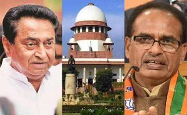 Supreme Court Ordered To Madhya Pradesh Assembly To Conduct Floor Test - Sakshi