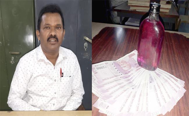 Commercial Tax Officer Held in Bribery Demand Case East Godavari - Sakshi
