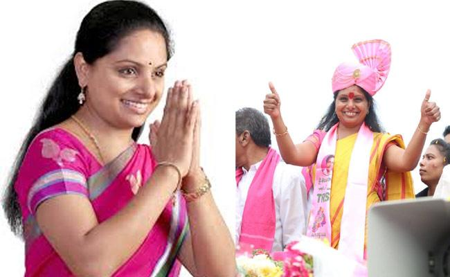 Kalvakuntla kavitha File Nomination To MLC From Nizamabad - Sakshi