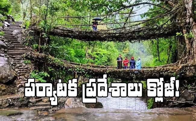 Meghalaya Govt Closes All Tourist Places Due To Corona Virus - Sakshi