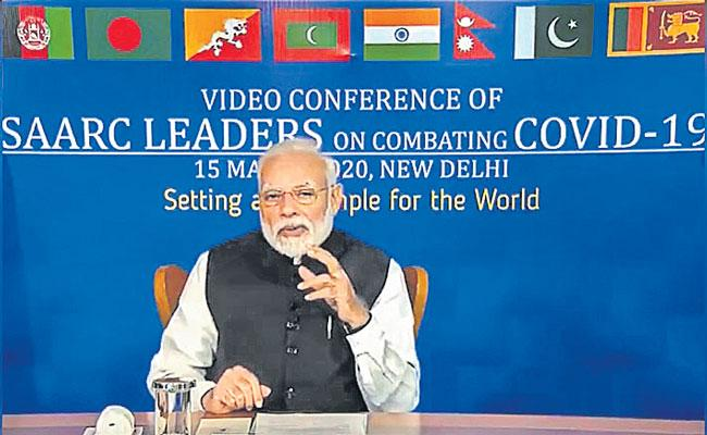 Guest Columns On PM Modi Interaction WITH SAARC Countries On Fighting Covid 19 - Sakshi