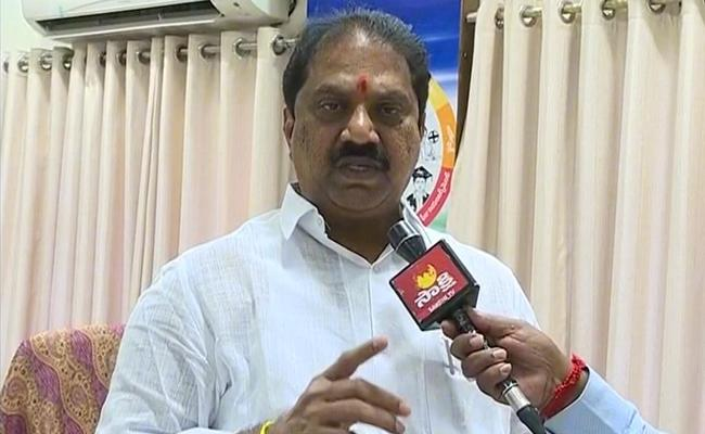 Malladi vishnu: Ramesh Kumar Does Not Have To Continue As EC - Sakshi