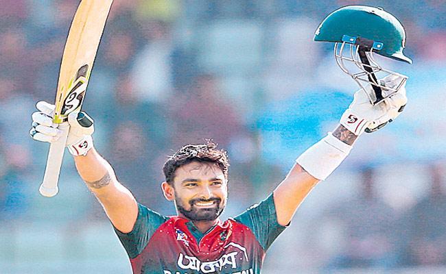 Liton Das Made A Century In ODI Against Zimbabwe - Sakshi