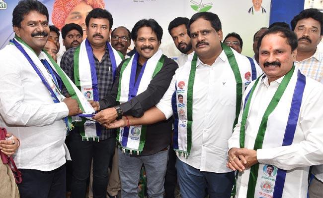 TDP And Janasena Leaders Joins YSRCP - Sakshi