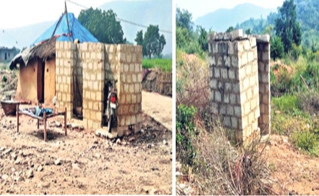Corruption In Construction Of Personal Toilets - Sakshi